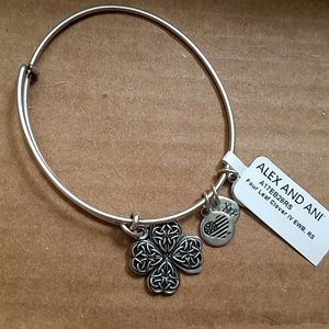 Alex and ani four leaf clover